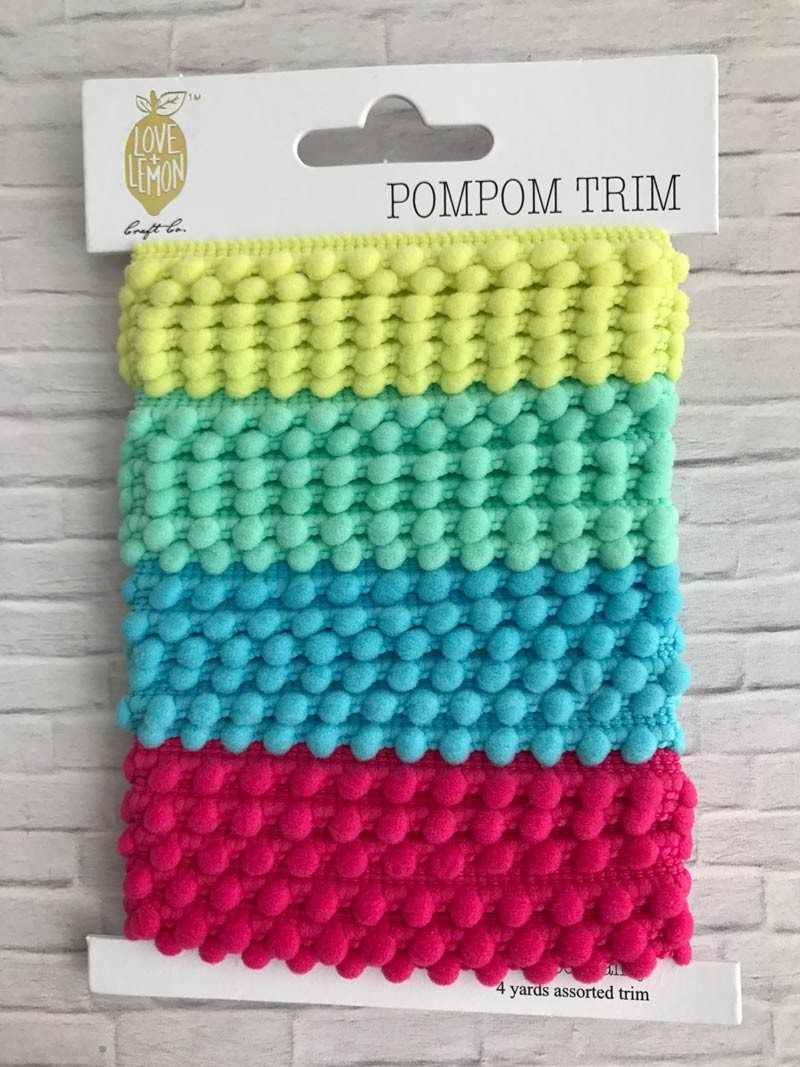 Pom Pom Trim from Love + Lemon