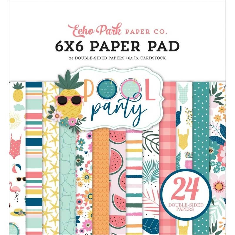 Echo Park 6x6 Pool Party Paper Pad