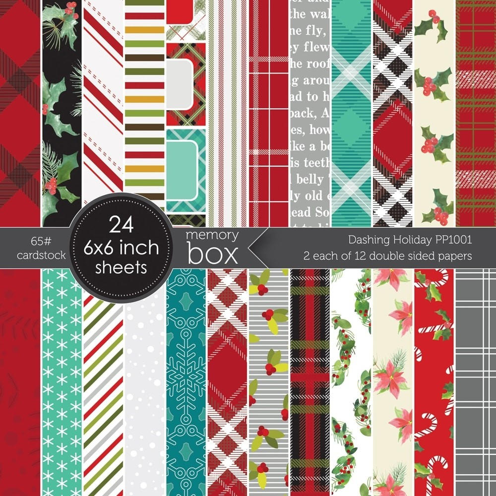 Dashing Holiday 6x6 pack