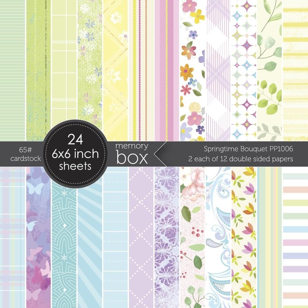 Memory Box Springtime Bouquet 6x6 pack