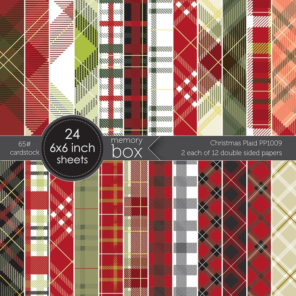 Christmas Plaid 6x6 pack