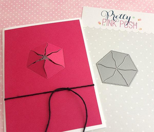 Pretty Pink Posh Peek a boo die