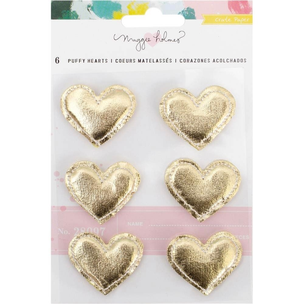 Maggie Holmes Puffy Hearts