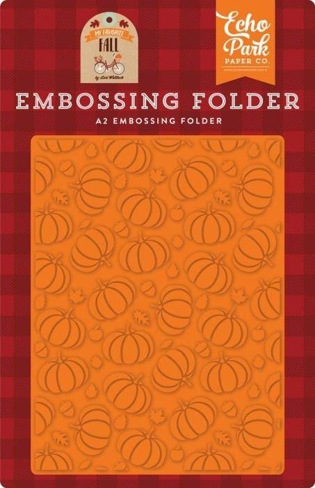 Echo Park Pumpkin Patch Embossing Folder