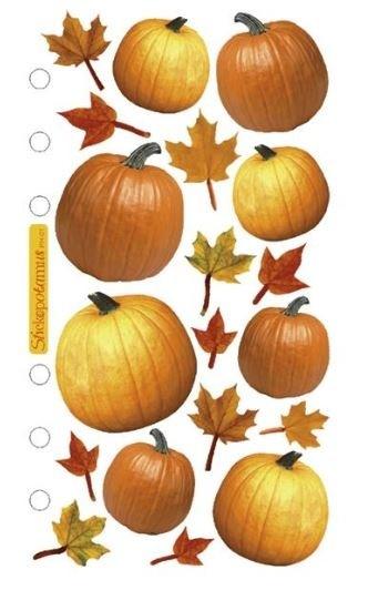 Autumn Pumpkin Stickers