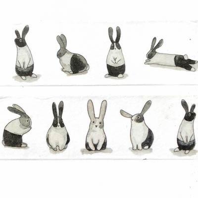 Rabbit Washi Tape