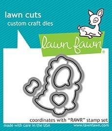Lawn Fawn RAWR die