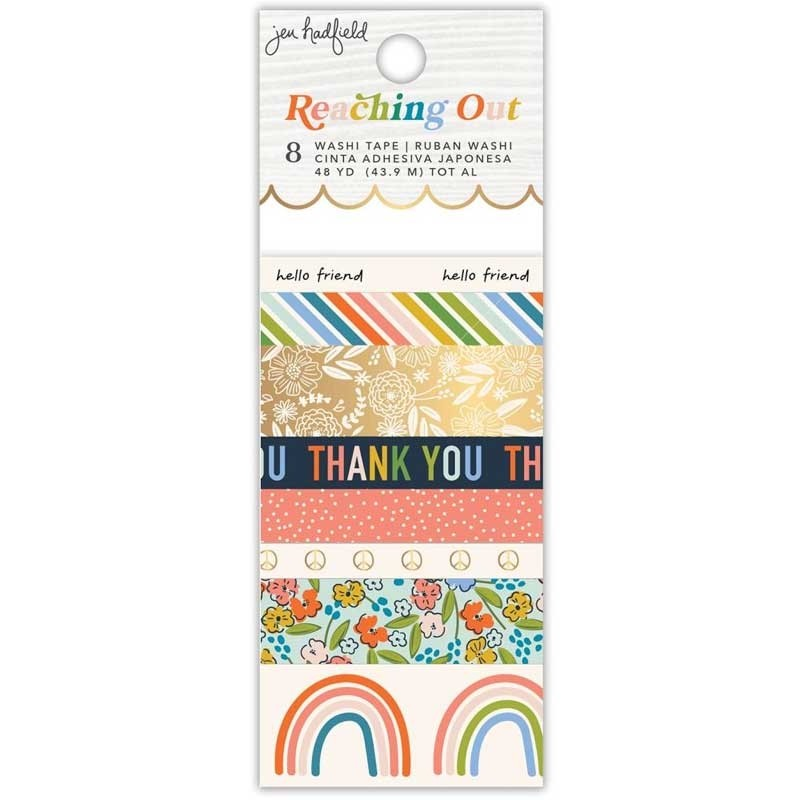 Jen Hadfield Reaching Out Washi Tape