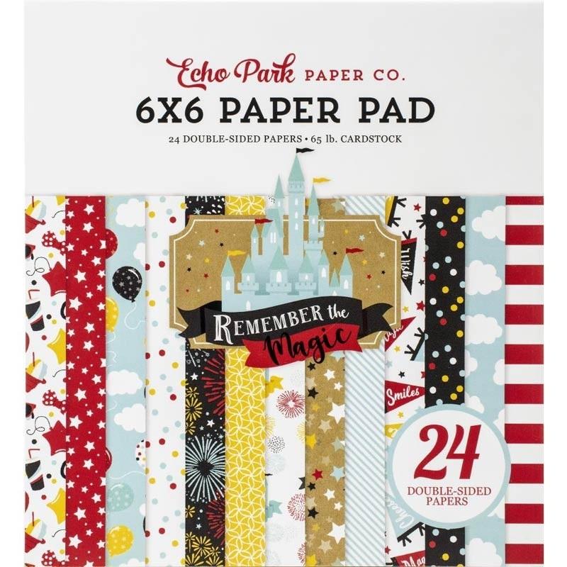 Echo Park Remember Magic 6x6 Paper Pad