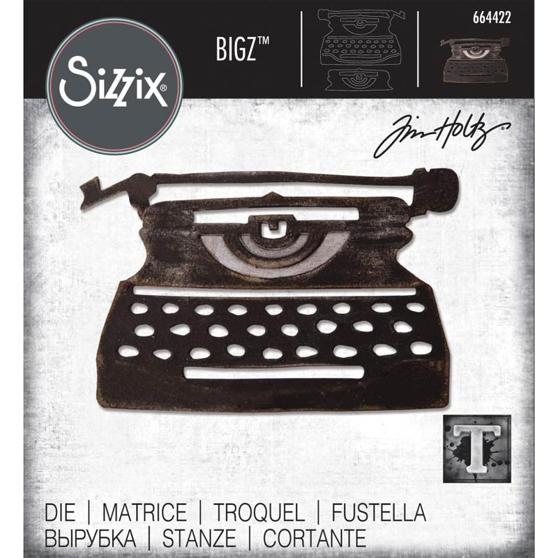 Sizzix Retro Type Die 664422