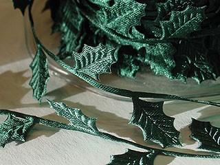 Holly Leaf Ribbon
