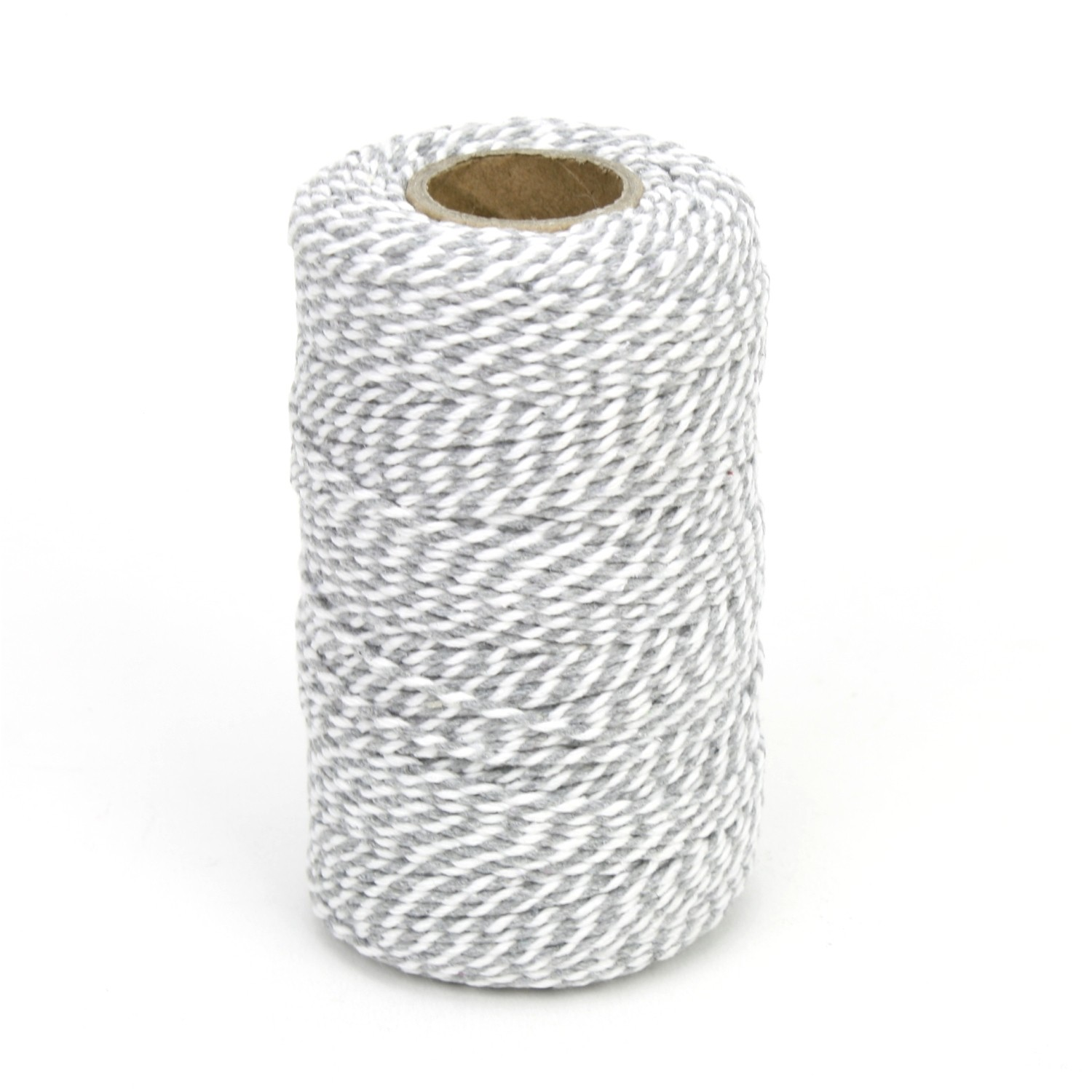 Grey and White Chunky Twine Bolt