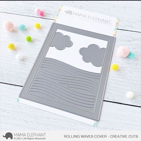 Mama Elephant Rolling Waves Cover Cuts