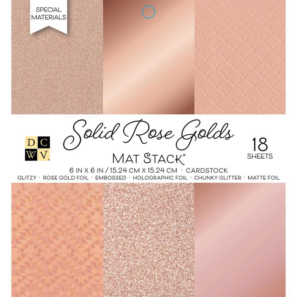 Solid Rose Golds Paper Pack