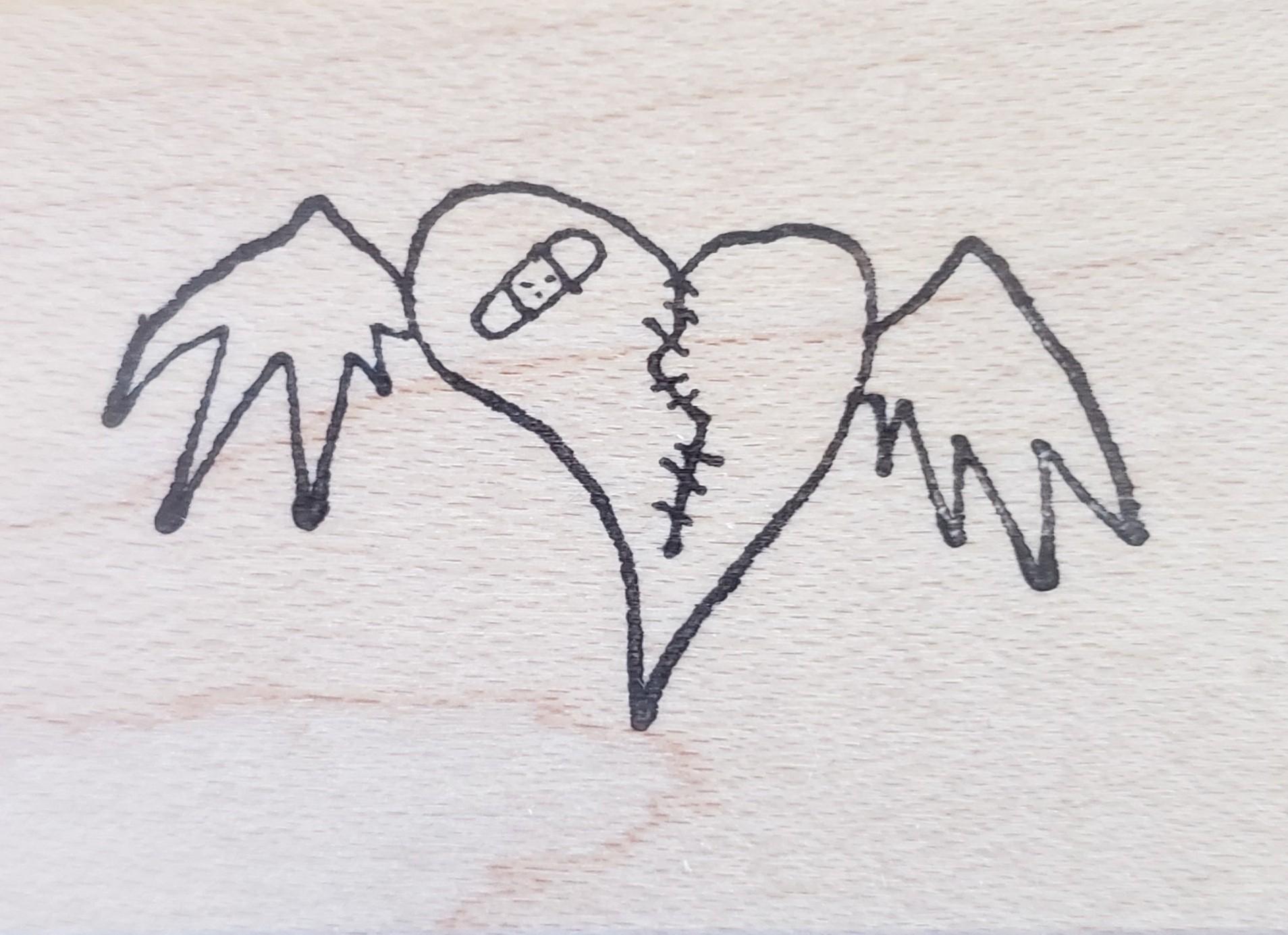 Rubbermoon Broken Heart by Gus Fink GE5374E