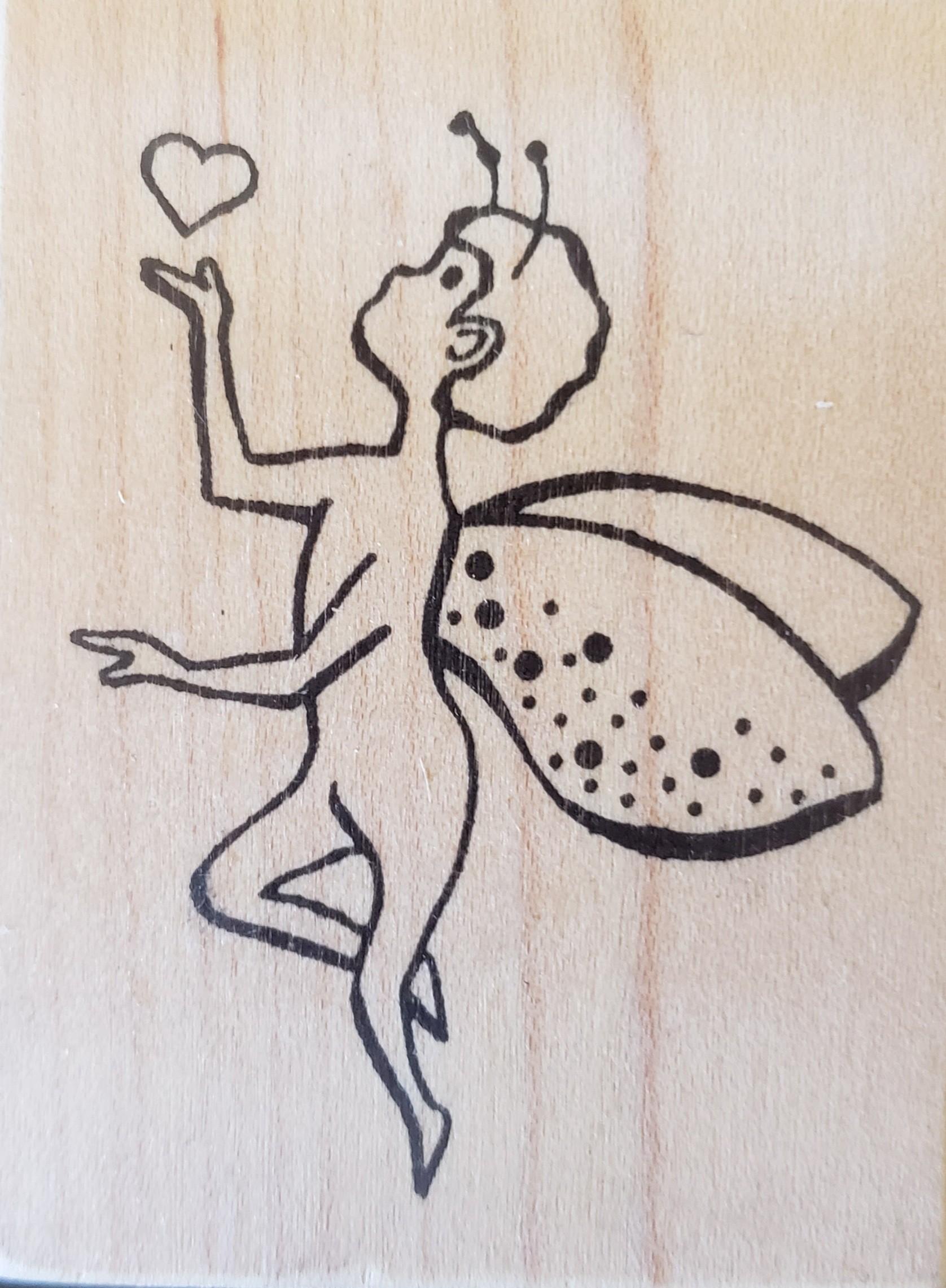 Rubbermoon Fairy by Sandee Setliff