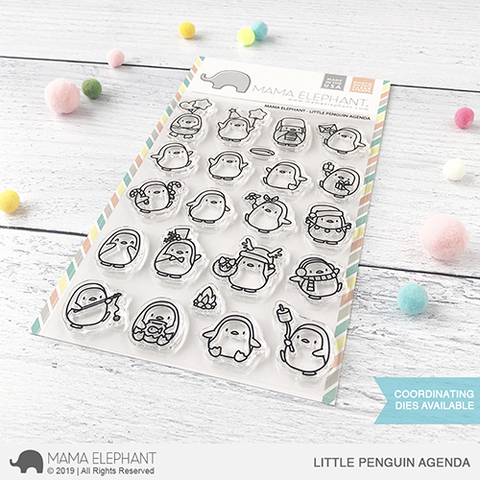 Mama Elephant Little Penguin Agenda