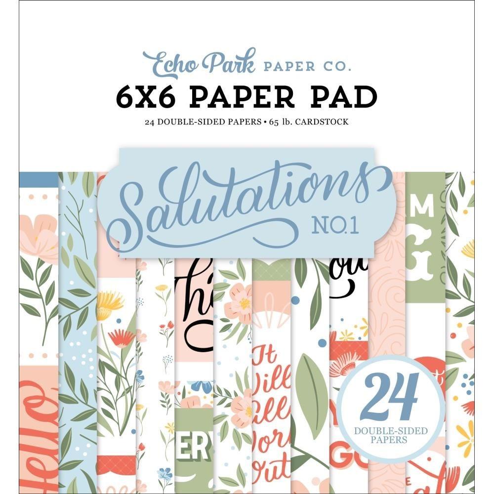 Echo Park Salutations 6x6 Paper Pack