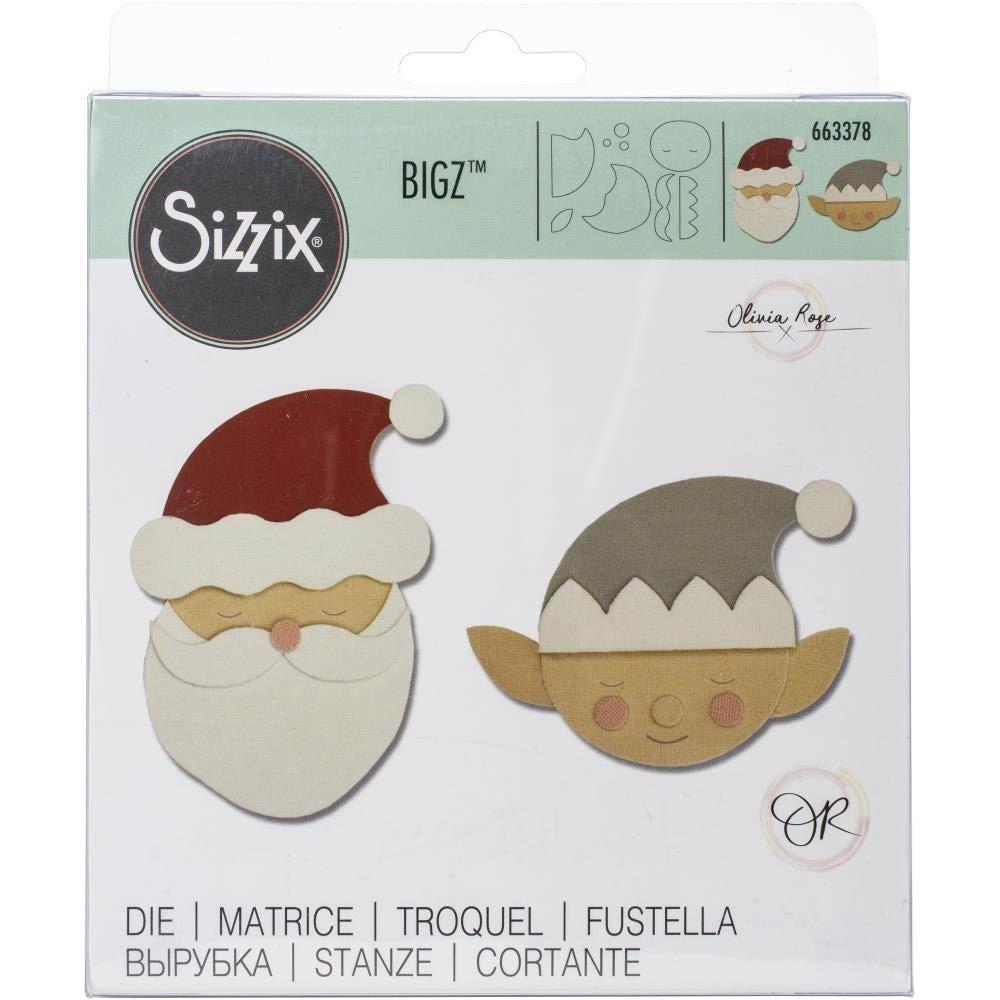 SALE - Sizzix Santa and Elf Die 66378