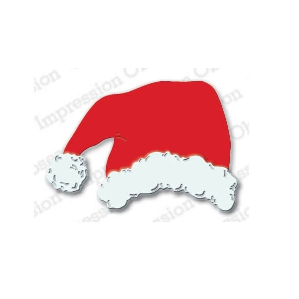 Impression Obsession Santa Hat Die  IO1032a - OUT OF STOCK