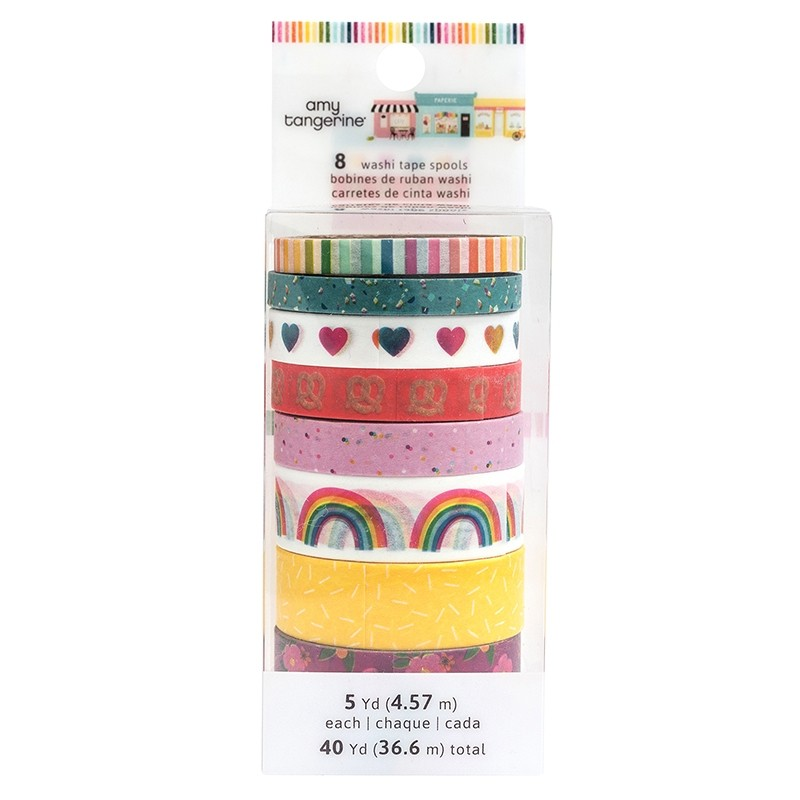 American Crafts Slice Of Life Collection Washi Tape Pack