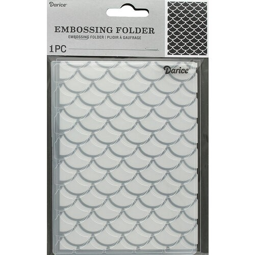 Scales Embossing Folder