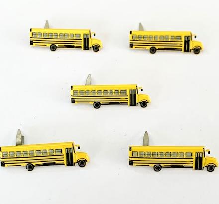 School Bus Brads