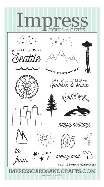 Seattle Sparkle Holiday Clear Set