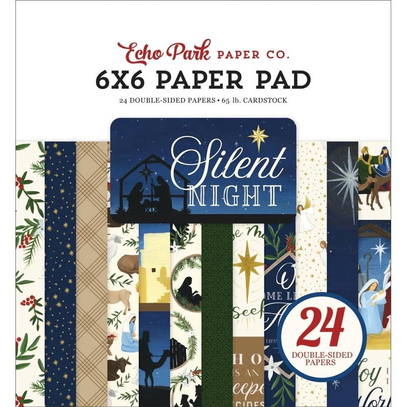 Echo Park Silent Night 6x6 Paper Pack