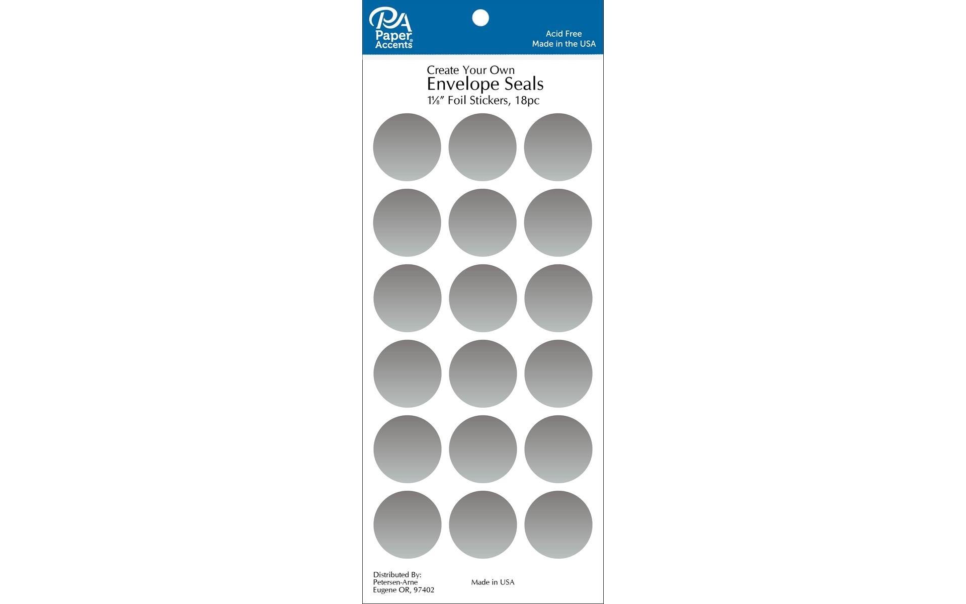 Envelope Seal - Silver
