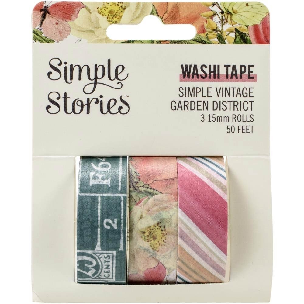 Garden District Washi Tape