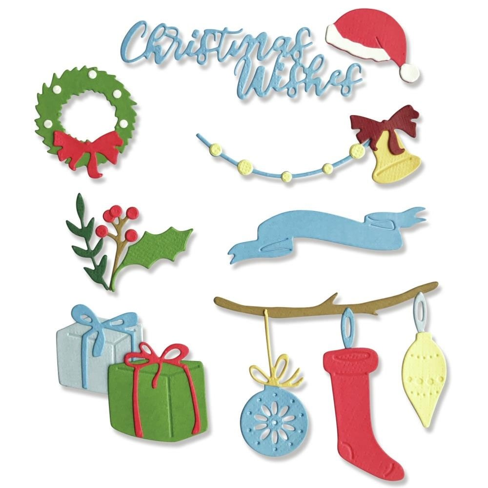 Sizzix Christmas Decorations Dies
