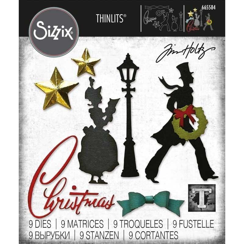 Sizzix Thinlits Dies By Tim Holtz Vault Series Christmas 2021 665584