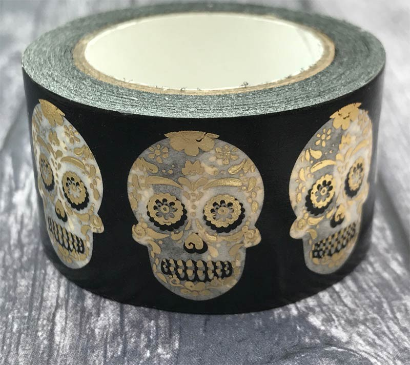 Sugar Skull Washi Tape