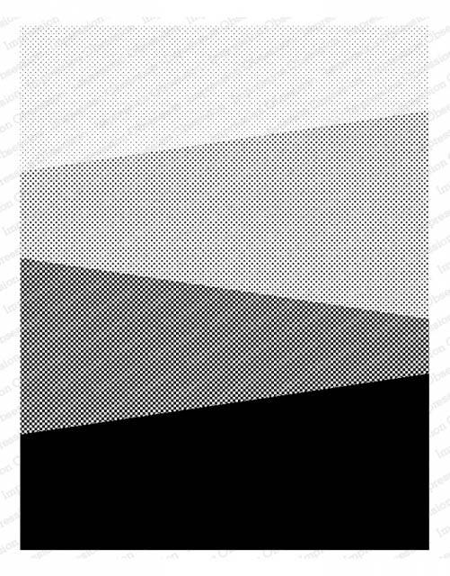Slant Background Rubber Stamp  L13950io