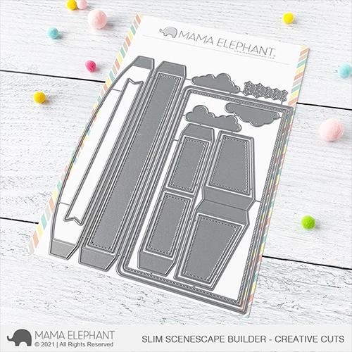 Mama Elephant Slim Scenescape Builder - Creative Cuts