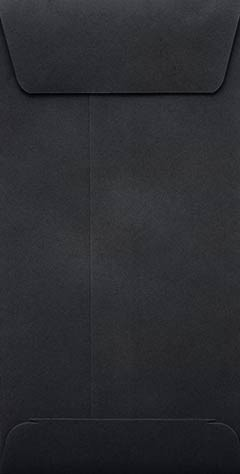 Black Slim Envelopes