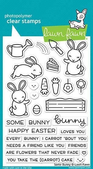 Lawn Fawn Some Bunny Clear Stamp Set