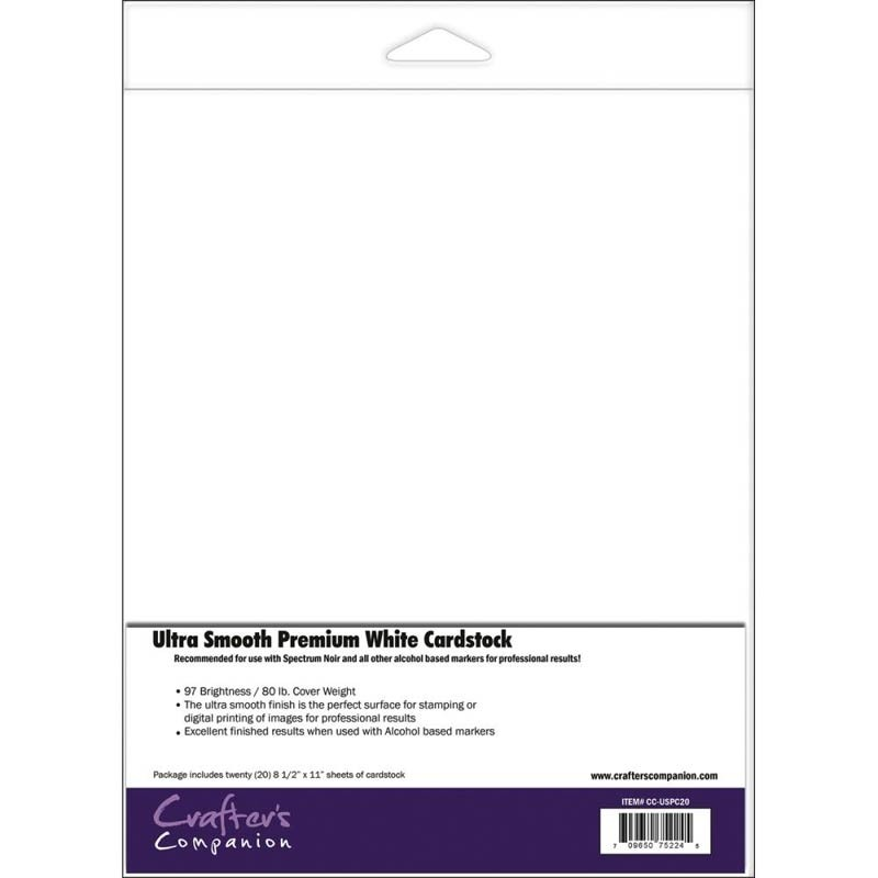 Ultra Smooth Premium White Cardstock