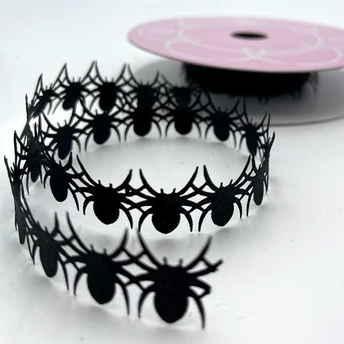 Black Spider Ribbon