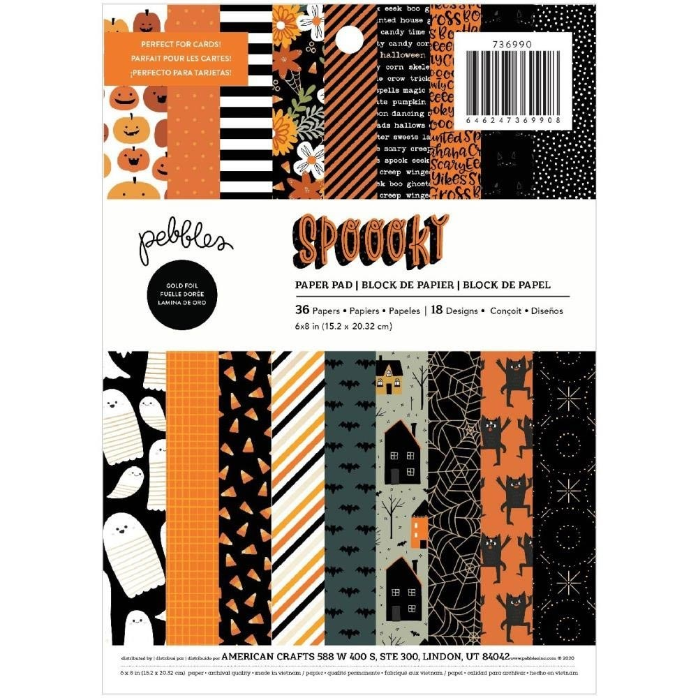 Pebbles Spooky Paper Pack