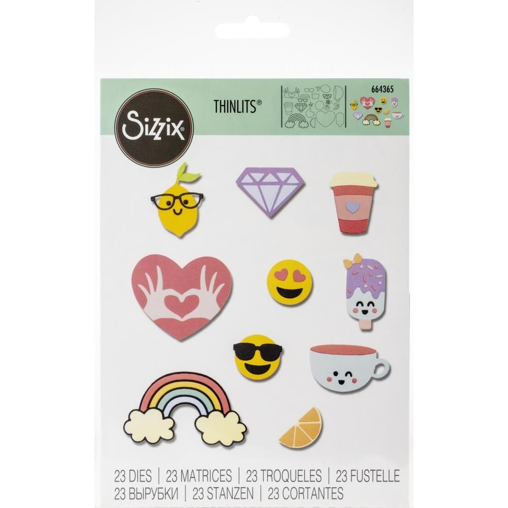 Sizzix Sping Icons Dies 664365