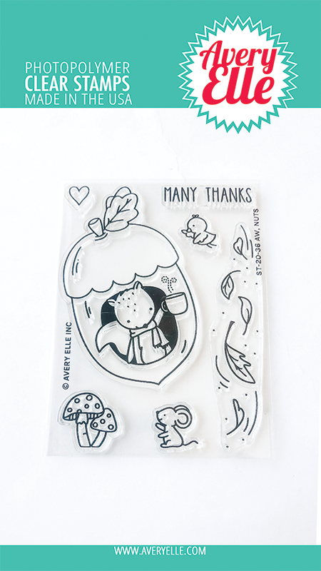 Avery Elle Aw, Nuts Clear Stamps st2036