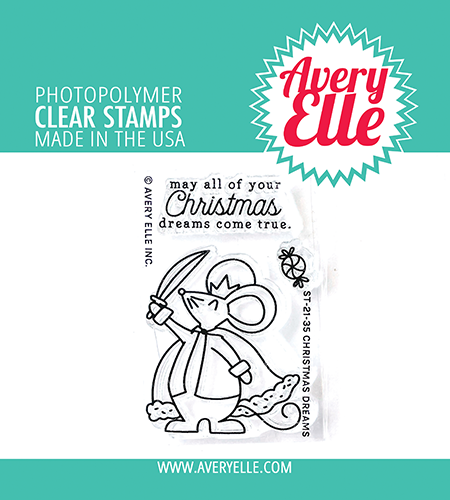 Avery Elle Christmas Dreams Clear Stamps ST-21-35