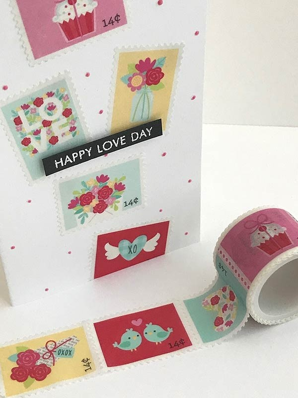 DAILY DEAL - Doodlebug SWAK Washi Tape Love Notes