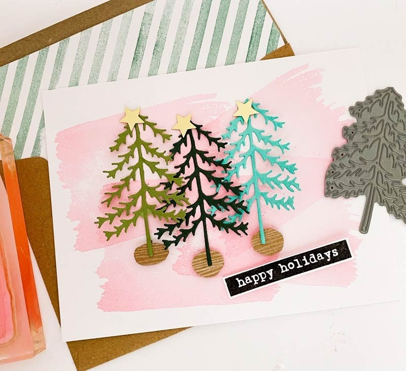 Flora and Fauna Pine Tree Die 30209