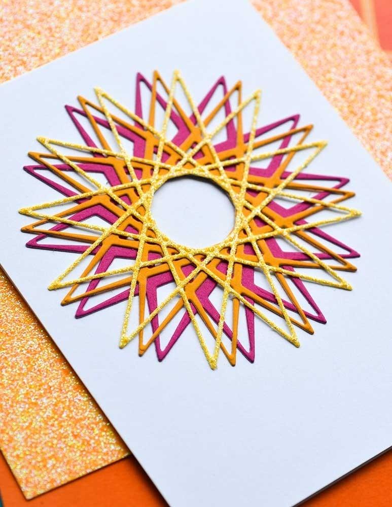 Birch Press Starburst Layer Set craft die 57415