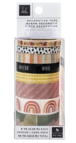 American Crafts™ Heidi Swapp™ Storyline Chapters Washi Tape Set