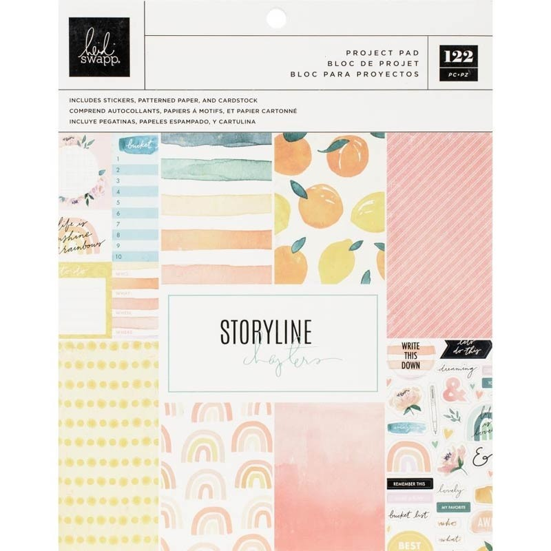 Heidi Swapp Storyline Chapters Project Pad - the journaler