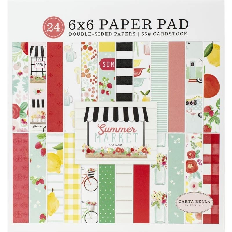 Carta Bella Summer Market Paper Pack